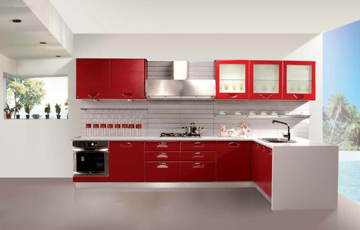 Amazing L Shape Modular Kitchens Part 4